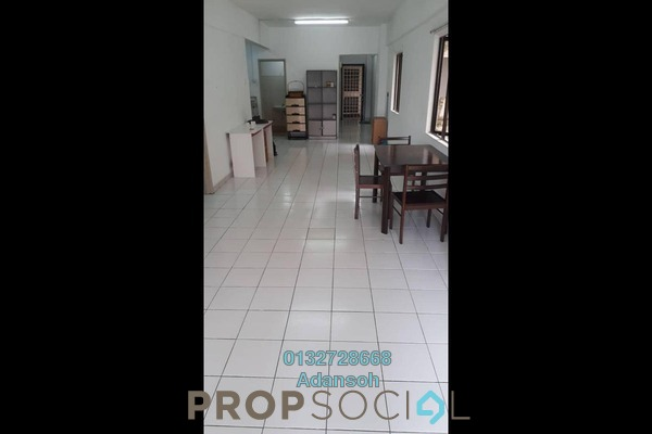 For Rent Apartment at Ixora Apartment, Kepong Freehold Semi Furnished 3R/2B 1.2k