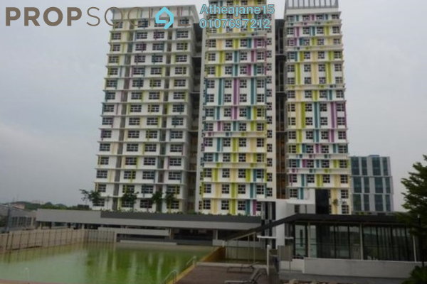 Duplex For Rent in The Domain, Cyberjaya Freehold Fully Furnished 1R/1B 1k