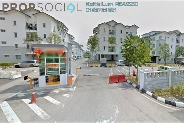 Townhouse For Sale in Bayan Villa, Seri Kembangan Freehold Semi Furnished 2R/2B 398k