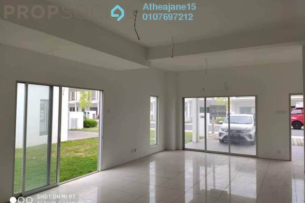 Superlink For Sale in Cybersouth, Dengkil Leasehold Unfurnished 3R/3B 620k