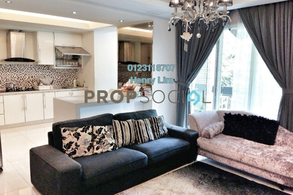 Townhouse For Sale in Laman Impian, Sunway Damansara Freehold Semi Furnished 3R/4B 980k