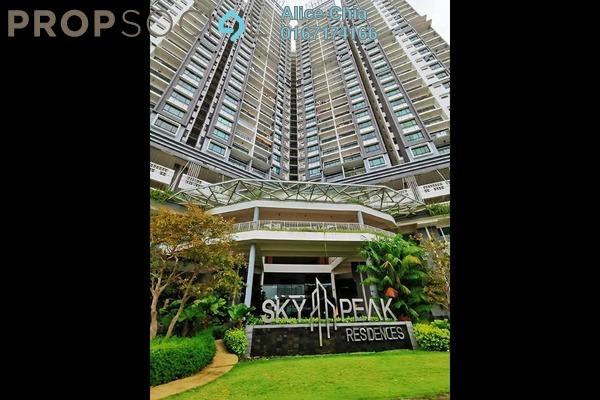 Condominium For Sale in Sky Peak Residences, Setia Tropika Freehold Unfurnished 3R/2B 399k