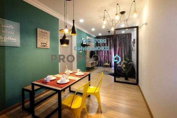 Serviced Residence For Rent in The Wave Residence, Melaka Freehold Fully Furnished 2R/1B 1.35k