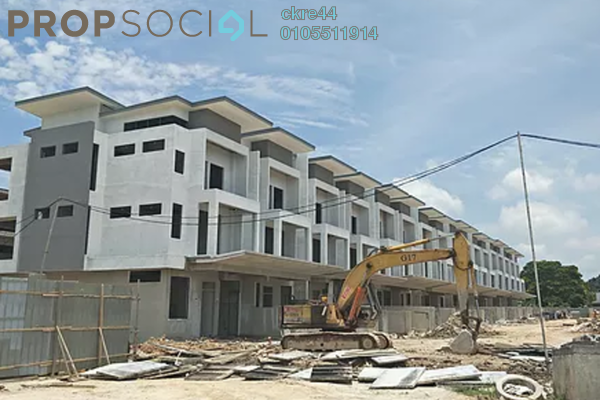 Terrace For Sale in Taman Bukit Segar, Cheras Freehold Fully Furnished 5R/4B 888k