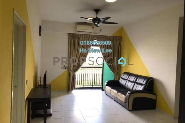 Serviced Residence For Sale in Sky Oasis Residences, Tebrau Freehold Fully Furnished 3R/2B 460k
