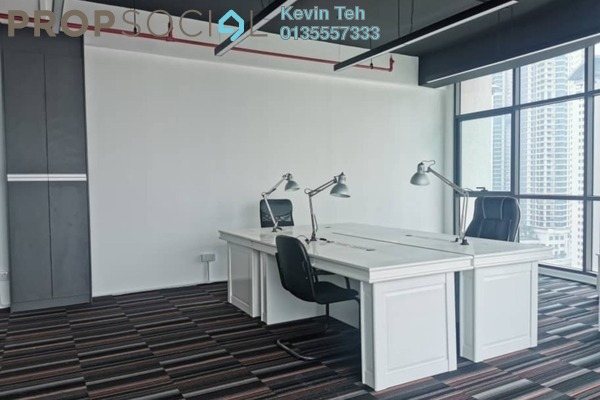 Office For Sale in Kiara 163, Mont Kiara Freehold Semi Furnished 0R/0B 746k