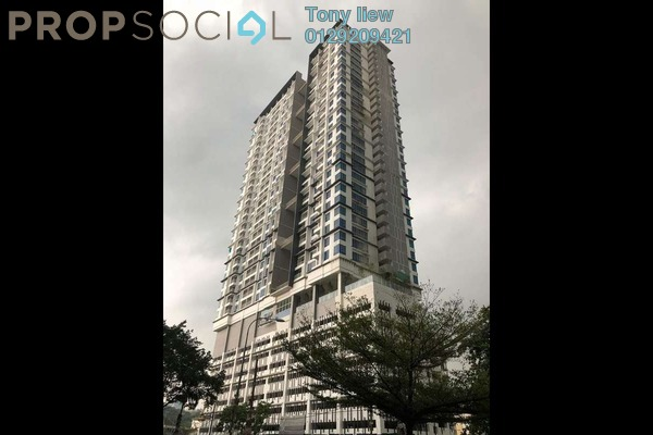 Condominium For Rent in Court 28 @ KL City, Sentul Freehold Semi Furnished 2R/2B 1.6k