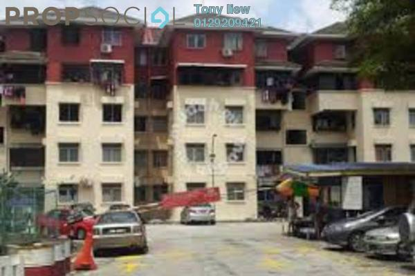 Duplex For Sale in Dahlia Apartment, Pandan Indah Freehold Fully Furnished 3R/2B 275k