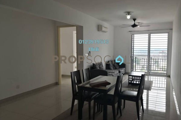 Serviced Residence For Rent in De Centrum Residences, Kajang Freehold Semi Furnished 3R/2B 2k