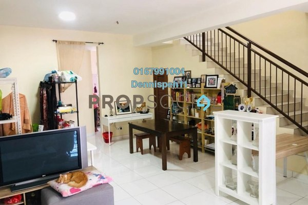 For Sale Terrace at Perjiranan 12, Bandar Dato' Onn Freehold Semi Furnished 4R/4B 615k