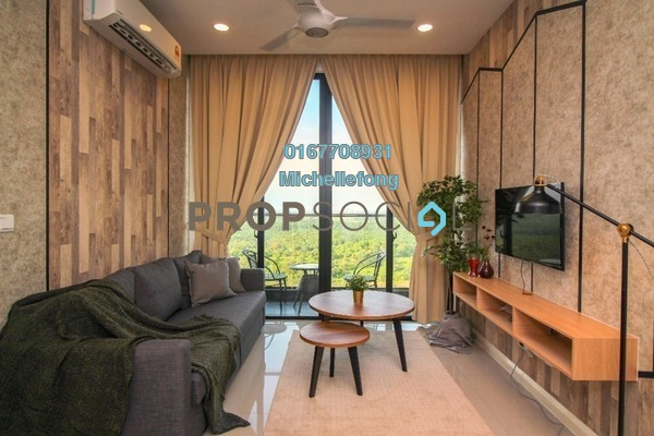 Serviced Residence For Rent in D'Pristine, Medini Iskandar Malaysia Freehold Fully Furnished 2R/2B 2.1k