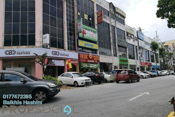 Office For Rent in Section 9, Shah Alam Freehold Semi Furnished 3R/2B 1.5k