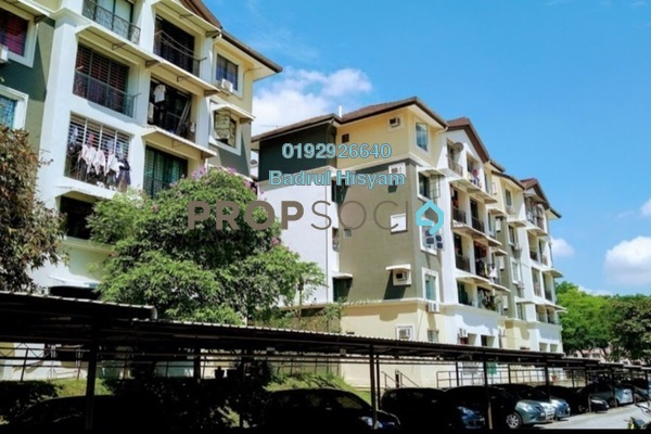 For Sale Apartment at SD Apartments, Bandar Sri Damansara Freehold Fully Furnished 3R/2B 290k