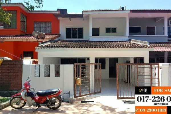 Terrace For Sale in Taman Rakan, Bandar Sungai Long Leasehold Semi Furnished 4R/3B 530k