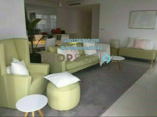 For Rent Condominium at The Northshore Gardens, Desa ParkCity Freehold Fully Furnished 3R/3B 7k
