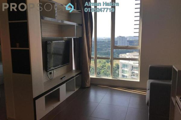 Serviced Residence For Rent in Garden Plaza @ Garden Residence, Cyberjaya Freehold Fully Furnished 2R/2B 1.35k
