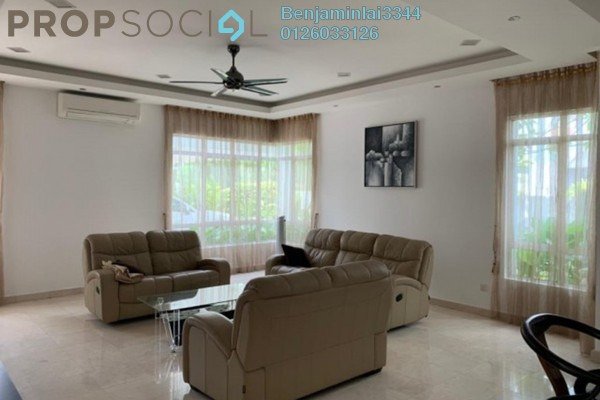 Bungalow For Rent in Valencia, Sungai Buloh Freehold Semi Furnished 6R/5B 11k