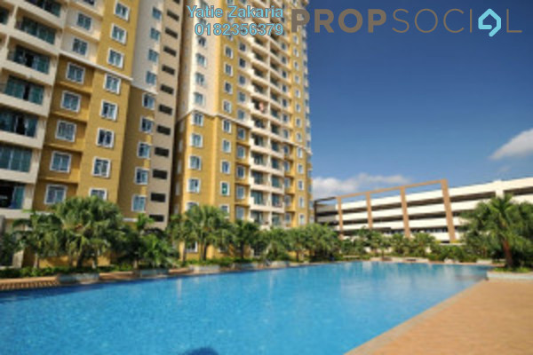 For Rent Condominium at Ixora Apartment, Kepong Freehold Semi Furnished 3R/2B 1.3k