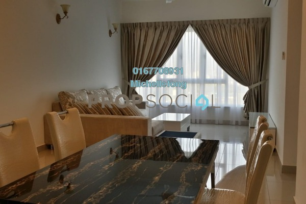 Serviced Residence For Rent in Tropez Residences, Danga Bay Freehold Fully Furnished 2R/2B 1.8k