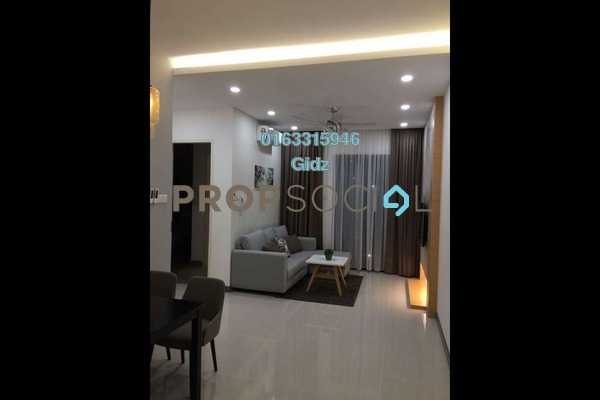 Serviced Residence For Rent in South View, Bangsar South Freehold Fully Furnished 2R/2B 3k
