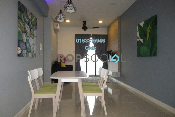 Serviced Residence For Rent in South View, Bangsar South Freehold Fully Furnished 2R/2B 2.8k