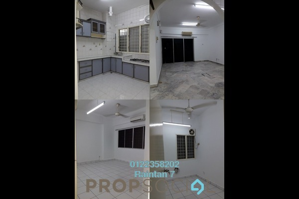 Condominium For Rent in Petaling Indah, Sungai Besi Freehold Semi Furnished 3R/2B 1.25k