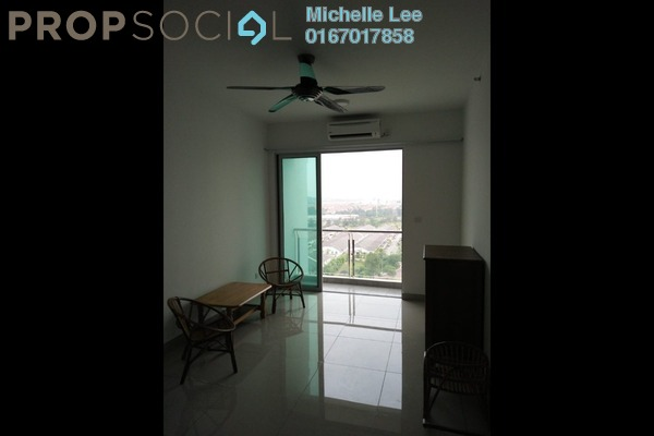 Serviced Residence For Sale in Austin Suites, Tebrau Freehold Semi Furnished 1R/1B 340k