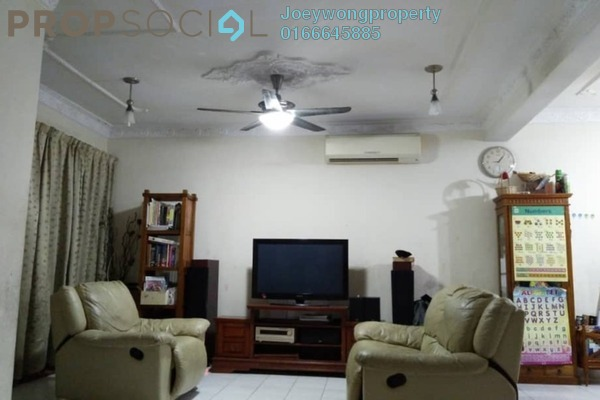 Terrace For Sale in BP10, Bandar Bukit Puchong Freehold Semi Furnished 4R/3B 575k