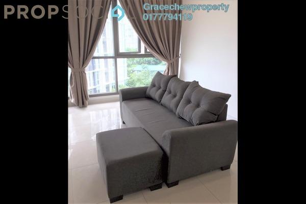 Condominium For Rent in Iskandar Residences, Medini Freehold Fully Furnished 3R/2B 2.2k