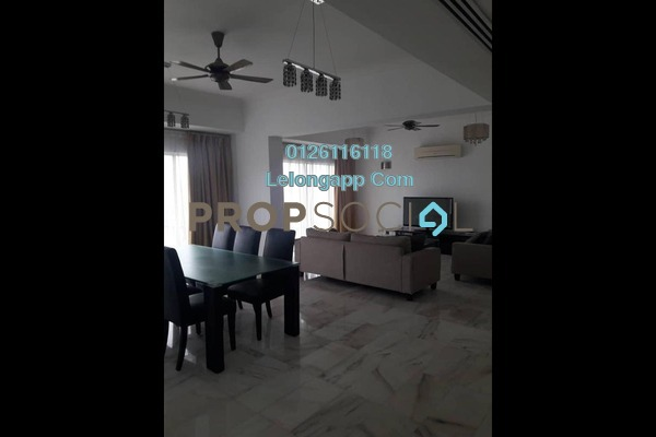 For Rent Duplex at Bukit Robson Condominium, Seputeh Freehold Fully Furnished 4R/0B 3k