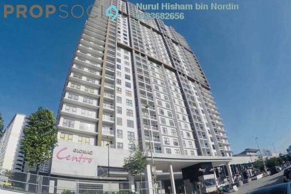 Condominium For Sale in Glomac Centro, Bandar Utama Freehold Semi Furnished 3R/2B 670k