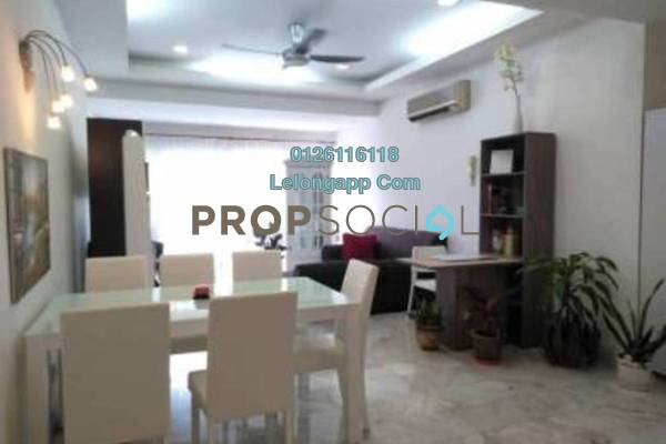 For Rent Duplex at Bukit Robson Condominium, Seputeh Freehold Fully Furnished 3R/2B 3k