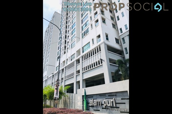 Condominium For Sale in Alam Puri, Jalan Ipoh Freehold Fully Furnished 3R/2B 535k