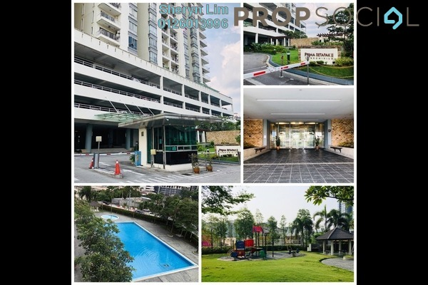 For Sale Condominium at Prima Setapak II, Setapak Freehold Semi Furnished 3R/3B 695k