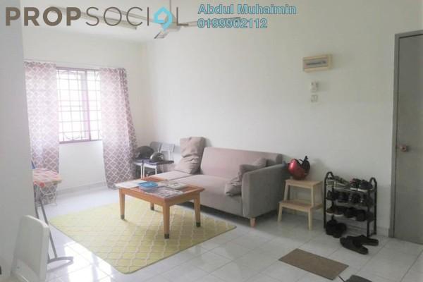 Apartment For Sale in Salvia Apartment, Kota Damansara Freehold Semi Furnished 3R/2B 320k