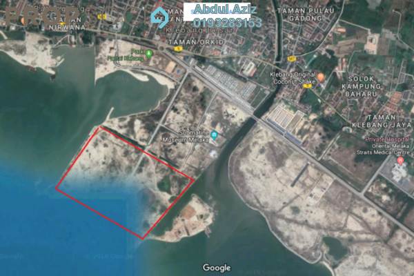 For Sale Land at Marina Point, Klebang Leasehold Unfurnished 0R/0B 12m
