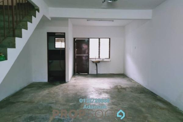 Terrace For Sale in Taman Usaha Jaya, Kepong Freehold Semi Furnished 3R/1B 325k