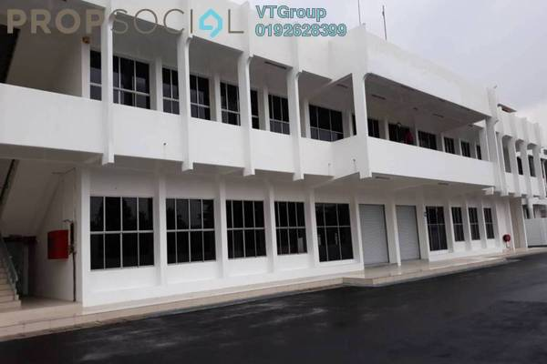 Factory For Sale in Cheras Jaya Industrial Park, Balakong Leasehold Unfurnished 1R/4B 17m