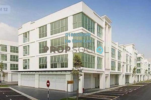 Shop For Rent in Senibong Cove, Bandar Baru Permas Jaya Freehold Semi Furnished 0R/2B 3.5k