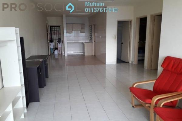 Apartment For Rent in Flora Damansara, Damansara Perdana Freehold Semi Furnished 3R/2B 950translationmissing:en.pricing.unit