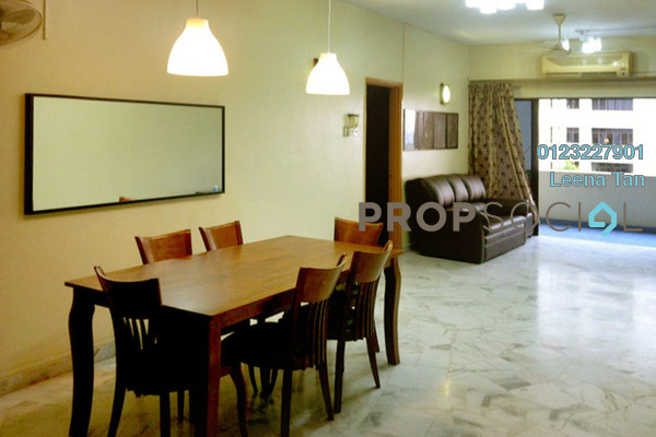 Condominium For Sale in Pinggiran Kiara, TTDI Leasehold Fully Furnished 3R/2B 900k