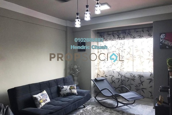 Apartment For Sale in Mon't Jade, Seremban Freehold Semi Furnished 3R/2B 120k