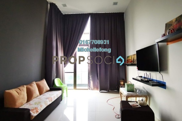 Serviced Residence For Rent in Marina Cove, Johor Bahru Freehold Fully Furnished 2R/2B 2.4k