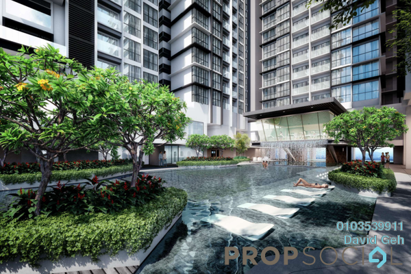 For Sale Serviced Residence at Lavile, Kuala Lumpur Freehold Semi Furnished 3R/2B 0translationmissing:en.pricing.unit