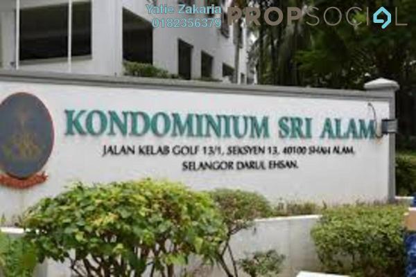 Condominium For Rent in Sri Alam, Shah Alam Freehold Semi Furnished 2R/2B 1.4k