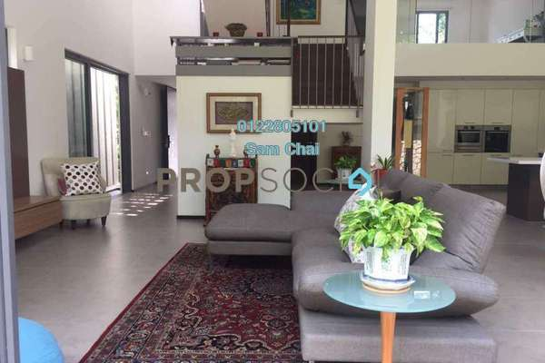 Superlink For Rent in The Mansions, Desa ParkCity Freehold Fully Furnished 4R/5B 15k