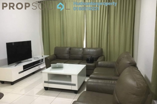 Condominium For Sale in The iResidence, Bandar Mahkota Cheras Freehold Semi Furnished 4R/2B 480k