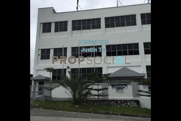 Factory For Rent in BK1, Bandar Kinrara Freehold Semi Furnished 0R/0B 72k