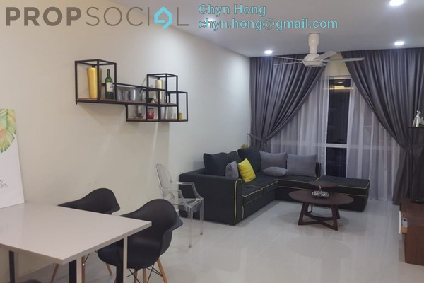For Rent Condominium at Medini Signature, Medini Freehold Fully Furnished 2R/1B 1.8k