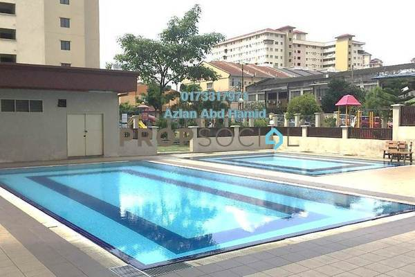 Apartment For Sale in Permai Putera, Ampang Freehold Semi Furnished 3R/2B 320k